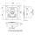 Penn Elcom L905/928Z Butterfly Verschluss mittel gefedert 13 mm tief