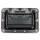 Adam Hall 34081 BLK - Klappgriff mittel schwarz gefedert 9 mm tief mit Nietschutz
