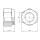 Würth Sechskantmutter M6 x 6 mm selbstsichernd Stahl verzinkt
