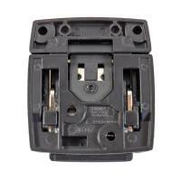 Penn Elcom L0575K - Kofferschloss groß abschließbar schwarz