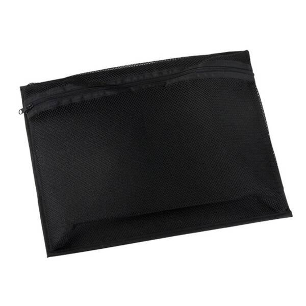 Adam Hall 2810 Kofferinlett Netztasche 33 x 26 cm mit Klettband