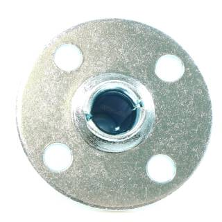 Penn Elcom WE-5299 - Einbauflansch für Steckrolle 50 mm