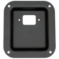 Penn Elcom D0946-10K Einbauplatte schwarz für...