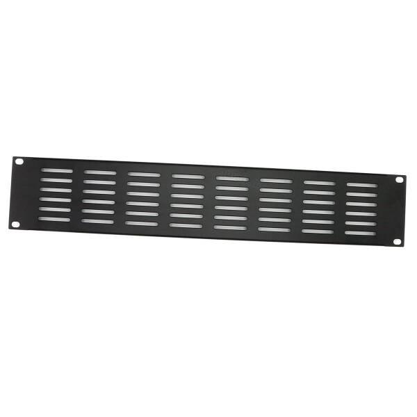 Penn Elcom R1279/2Uk - 2HE Lüftungs- Rackblende 19 Zoll horizontale Schlitze