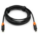 Sommer Cable - 3 m Optisches POF Toslink-Kabel Hicon Stecker