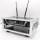 2 HE Half Size Rack für LD Systems U500 Funkempfänger gelb
