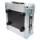 2 HE Half Size Rack für LD Systems U500 Funkempfänger grau