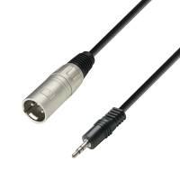 3 m Adapterkabel 3,5 mm Miniklinke stereo an XLR male