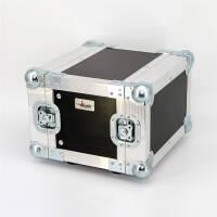 4 HE Half Size Rack für LD Systems U500 Funkempfänger Phenol schwarz