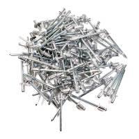 Bralo Blindniete Standard 4,0 x 6,0 mm Alu/Stahl 500 Stk. Packung