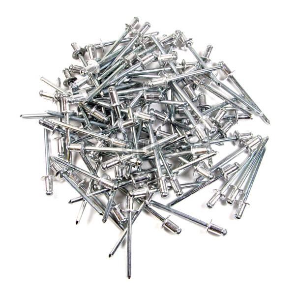 Bralo Blindniete Standard 4,0 x 8,0 mm Alu/Stahl 500 Stk. Packung