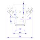 Penn Elcom Black Edition L0915k Butterfly Verschluss mittel inkl. Haken