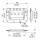 Penn Elcom H7159Z - Klappgriff mittel gefedert verzinkt in Einbauschale 9,5 mm