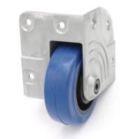 Penn Elcom W8675-HD Eckeinbaurolle mit 75 mm Rad blau