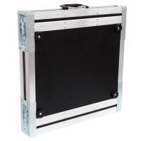 """1 HE Rack Case 19"""" Double Door Rack 39 CM 1U blau"""