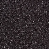 Adam Hall 0175 Filzbezug schwarz 150 cm breit