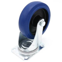 Flightcase Lenkrolle 125 mm Blue Wheel 200 kg