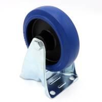 Flightcase Bockrolle 125 mm Blue Wheel 200 kg