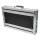 """1 HE Rack Case 19"""" Double Door Rack 20 CM 1U"""