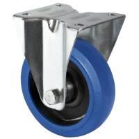 Flightcase Bockrolle 100 mm Blue Wheel 160 kg