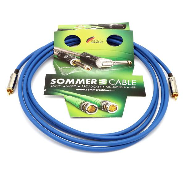 Sommer Cable SC-Vector S/PDIF 75 Ohm Koaxialkabel Cinch / Cinch Hicon 3 m