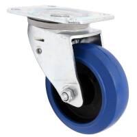 Flightcase Lenkrolle 100 mm Blue Wheel Automatik