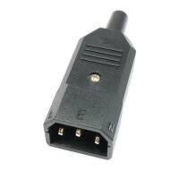 IECC Euro Netzstecker male 3-polig