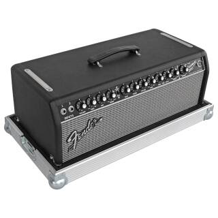 Flightcase für Fender Bassman 800 Head PVC schwarz 1 Riemengriff