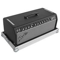Flightcase für Fender Bassman 800 Head blau (RAL 5005) 1 Riemengriff