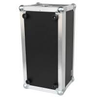 Flightcase für Fender Bassman 800 Head blau (RAL 5005) 2 Klappgriffe