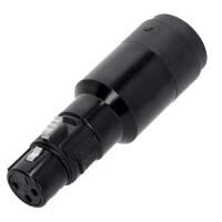 Adam Hall 7863 Adapter Lautsprecherverbinder 4-Pol auf...