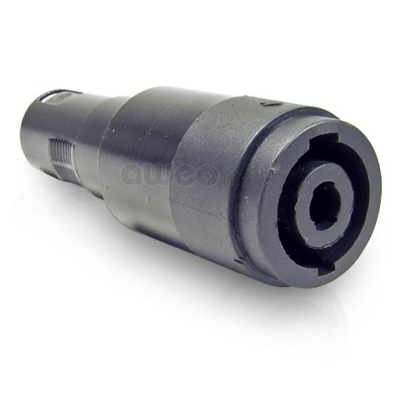 Adam Hall 7864 - Adapter Lautsprecherverbinder 4-Pol auf XLR male