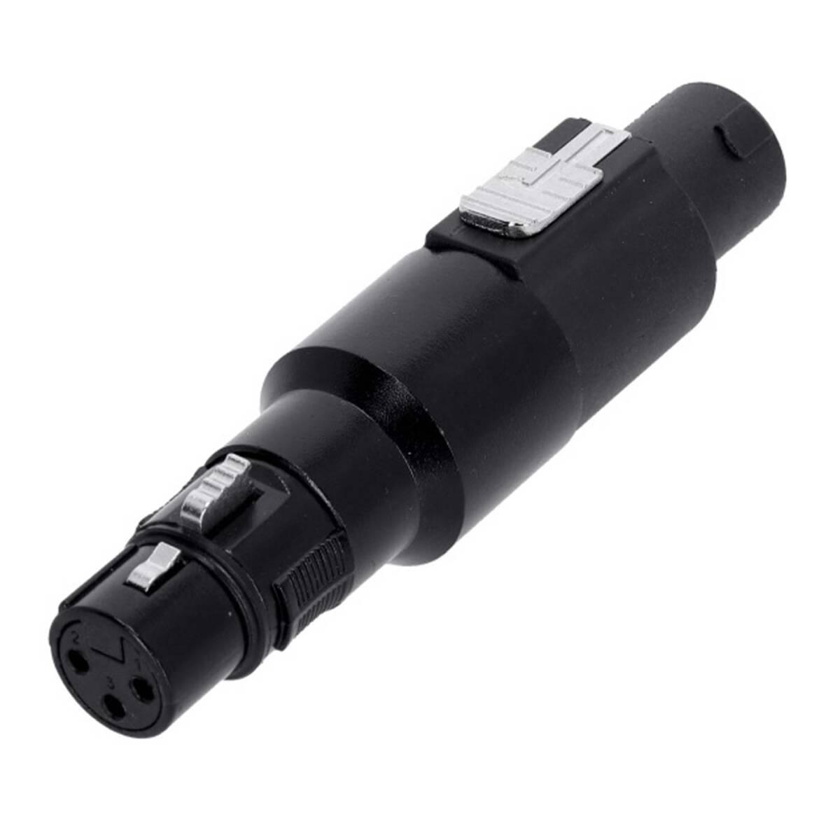 Adam Hall 7865 - Adapter Lautsprecherverbinder 4-Pol auf XLR female