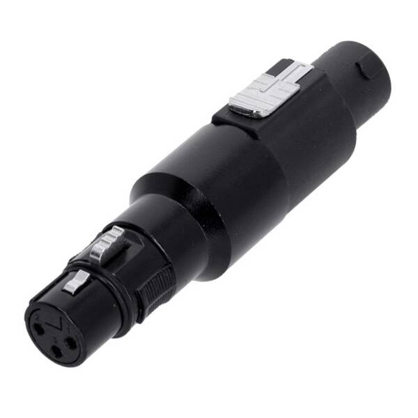 Adam Hall 7865 - Adapter Lautsprecherverbinder 4-Pol auf XLR female