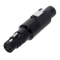Adam Hall 7865 Adapter Lautsprecherverbinder 4-Pol auf...
