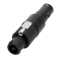 Adam Hall 7866 Adapter Lautsprecherverbinder 4-Pol auf...