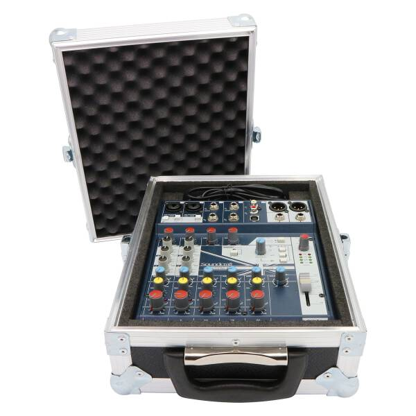 Case für Soundcraft Notepad-8FX Mischpult orange (RAL 2008)