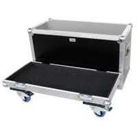 """Haubencase für Blue Amps """"MIMIC 212"""" mit 80 mm Blue Wheels rot"""