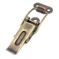 Kofferschloss Bügelverschluss Stahl brüniert