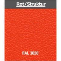 """4 HE Rack Case 19"""" Double Door Rack 50 CM rot (RAL 3020) RSH"""