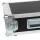 """4 HE Rack Case 19"""" Double Door Rack 50 CM grau (RAL 7046)"""