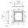 Penn Elcom W0964 Einbau Stellmulde für Rollen bis 100 mm
