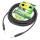 Sommer Cable SC-SPIRIT Instrumentenkabel schwarz 6,35 mm Neutrik Klinkenstecker 6 m