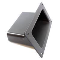 Adam Hall 3401 Boxen Griffschale Kunststoff schwarz
