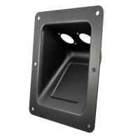 Adam Hall 87160 Boxen Einbauplatte schräg für 2...
