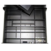 Adam Hall 87402 P1 Trennsteg quer für 19 Zoll Schubladen 2 HE
