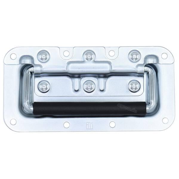 Adam Hall 340822 Klappgriff klein gefedert in 8 mm Einbauschale