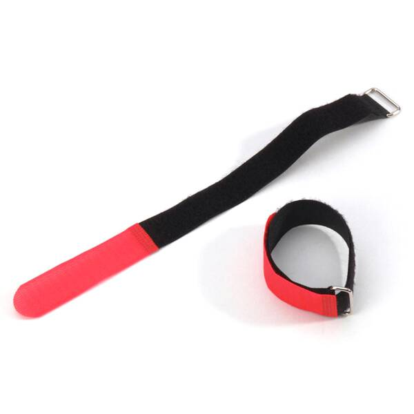 Adam Hall VR 2020 RED - Klett Kabelbinder 20 cm rot