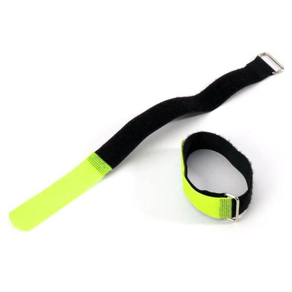 Adam Hall VR 2020 YEL - Klett Kabelbinder 20 cm gelb