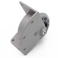 Adam Hall 37450 S - Eckeinbaurolle mit weichem Rad 75 mm